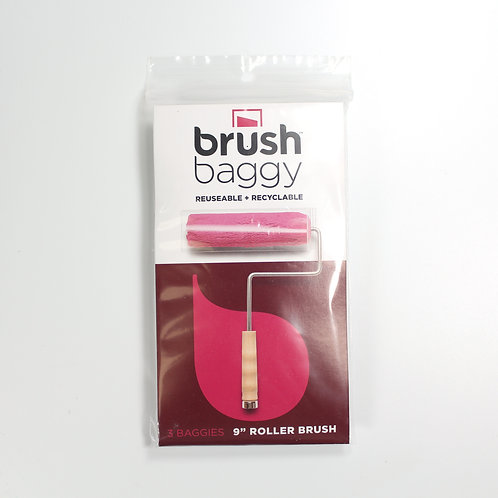 Brush Baggy - for 9 inch rollers - pack of 1