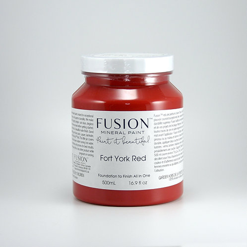 Fusion Mineral Paint - 500ml - Fort York Red