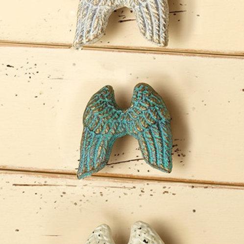 Turquoise Angel Wing Knob - 131370TRQ