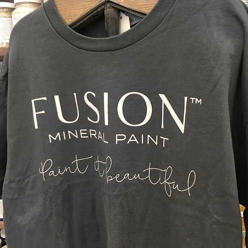 Fusion T-Shirt - 100% Cotton - Charcoal