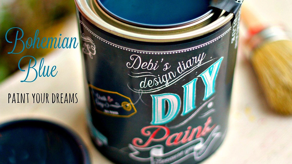 Debi's DIY Paint - 8oz - Bohemian Blue