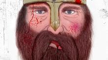 Björn the battered Viking