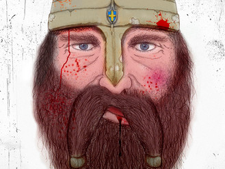 Björn the battered Viking