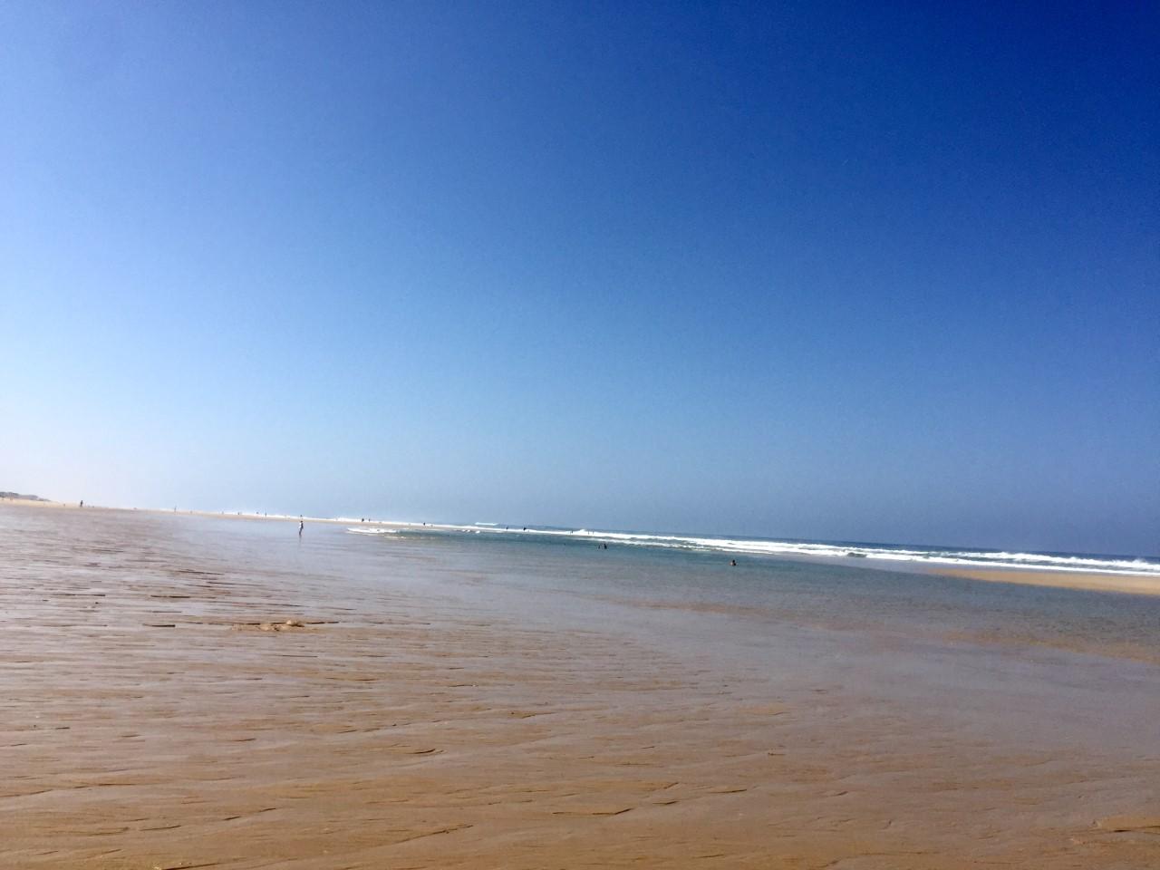 L'Océan des Landes - Ciel bleu