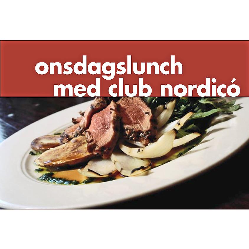ONSDAGS LUNCH MED CLUB NÒRDICO