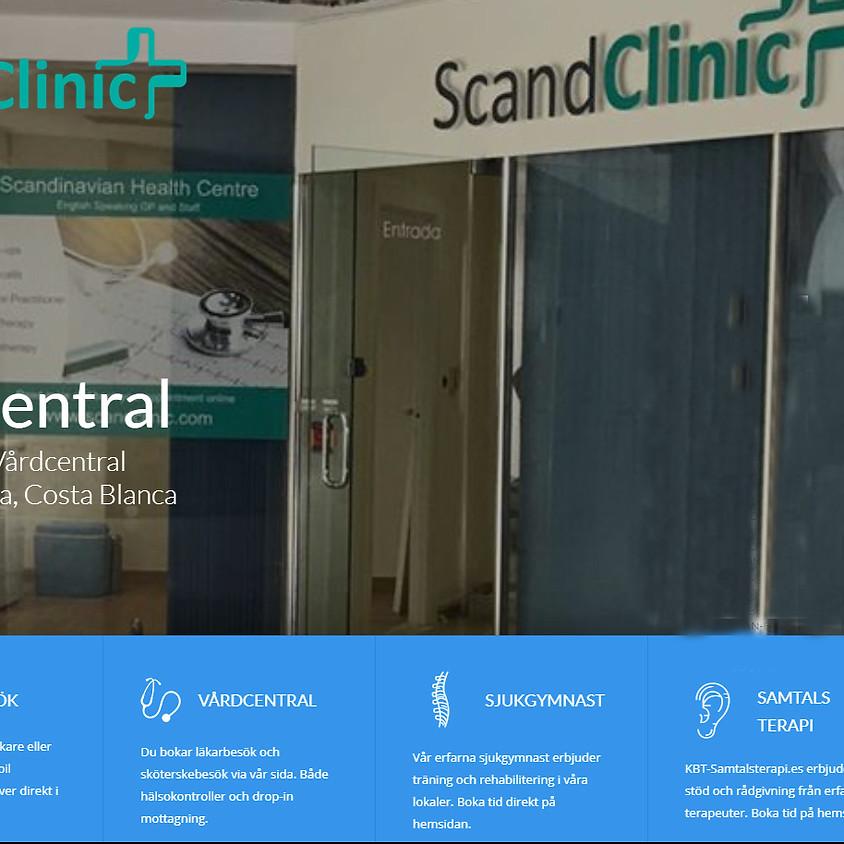 Temakväll - ScandClinic och Stroke/hjerneslag-förening