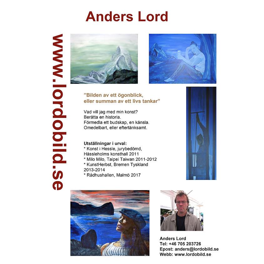 Konstpresentasjon av Anders Lord.