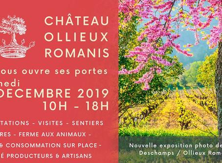Présence au Château Ollieux Romanis à Montséret