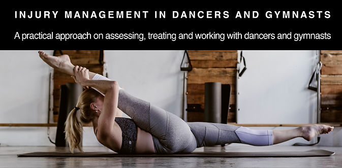 Injury Management in Dancers advert 1_ed