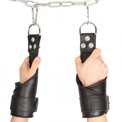Menottes poignets de suspension en cuir