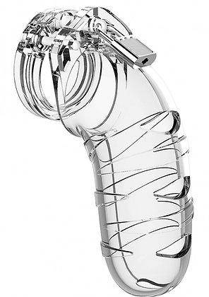 Cage de chasteté ManCage Modèle 05 14 x 4.5 cm Transparente
