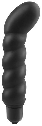 Stimulateur prostate vibrant 10 x 2.5 cm Noir