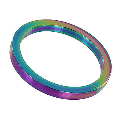 Cockring Rainbow Métal 8mm