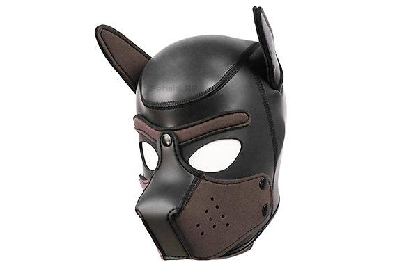 Cagoule Dog en néoprène marron