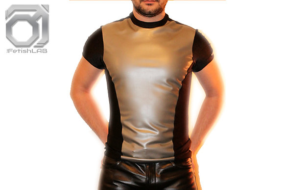 T-Shirt Latex & Lycra noir
