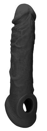 Gaine de pénis RealRock 17 x 4cm Noir