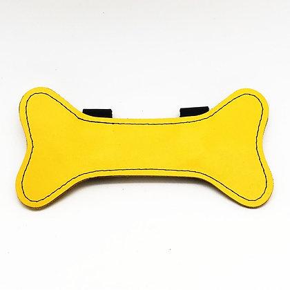 Os en cuir pour harnais - jaune