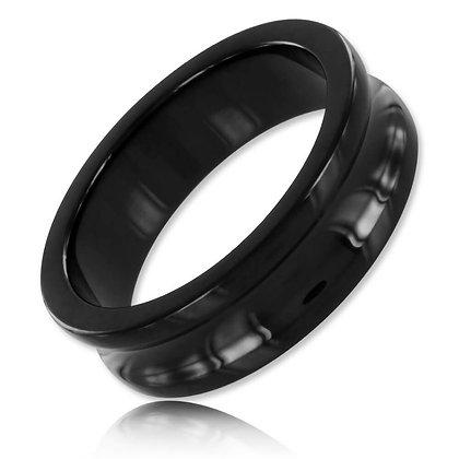 Cockring Belowed noir 15mm