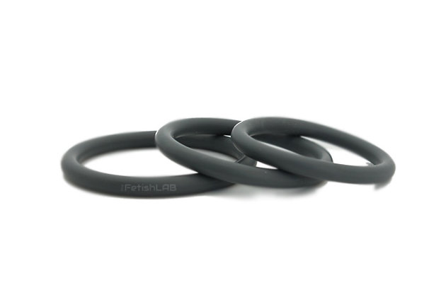 Cock ring silicone 4mm (lot de 3)