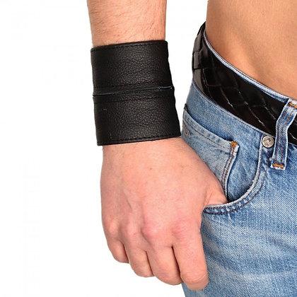 Bracelet de force - porte monnaie noir