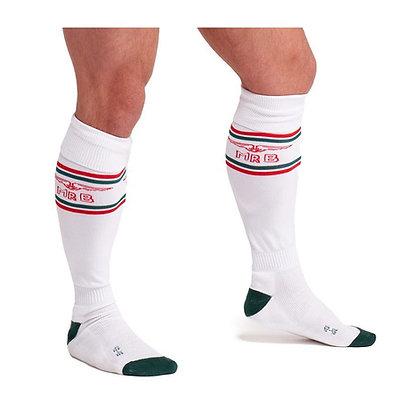 Chaussettes Football MrB Blanc,rouge,vert