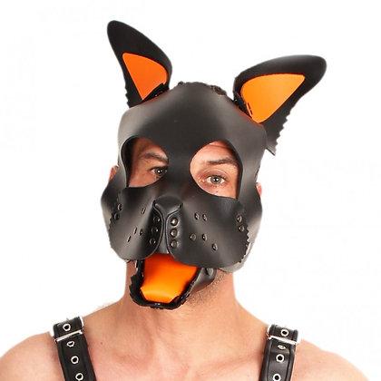 Set oreilles-lange pour masque puppy - orange