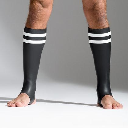 Chaussettes en néoprène, bandes blanches