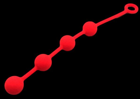 Boules anales Quatuor Rouge 3cm