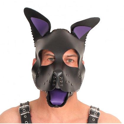 Set oreilles-lange pour masque puppy - violet