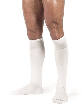 Chaussettes hautes Foot Socks Blanc