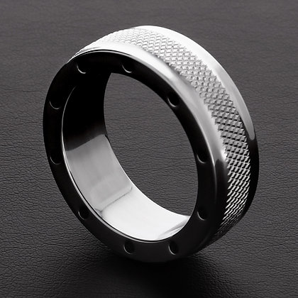 Cockring Cool and Knurl 15mm
