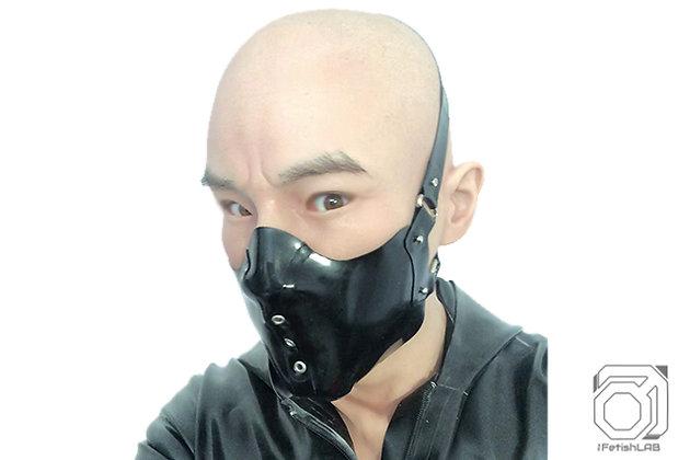 Masque biker Psycho Latex épais
