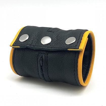 Bracelet de force - porte monnaie noir/jaune