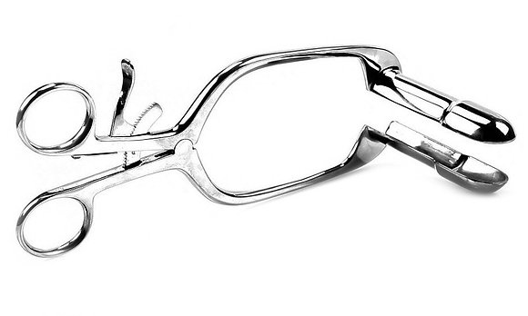 Speculum rectal ouvert