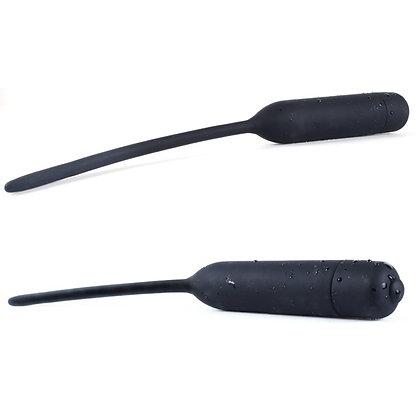 Plug Urètre Vibrante Silicone 6mm