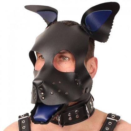 Set oreilles-lange pour masque puppy - bleu