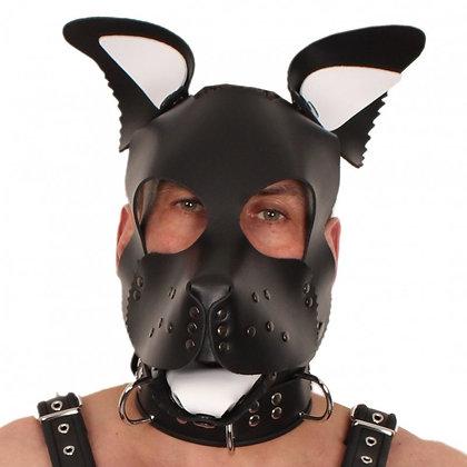 Set oreilles-lange pour masque puppy - blanc
