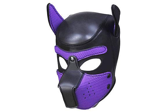 Cagoule Dog en néoprène violet
