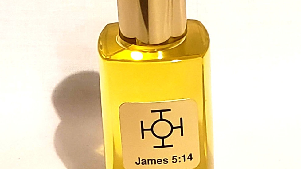 New Hope 1.7 Oz. Altar Bottle with Gold