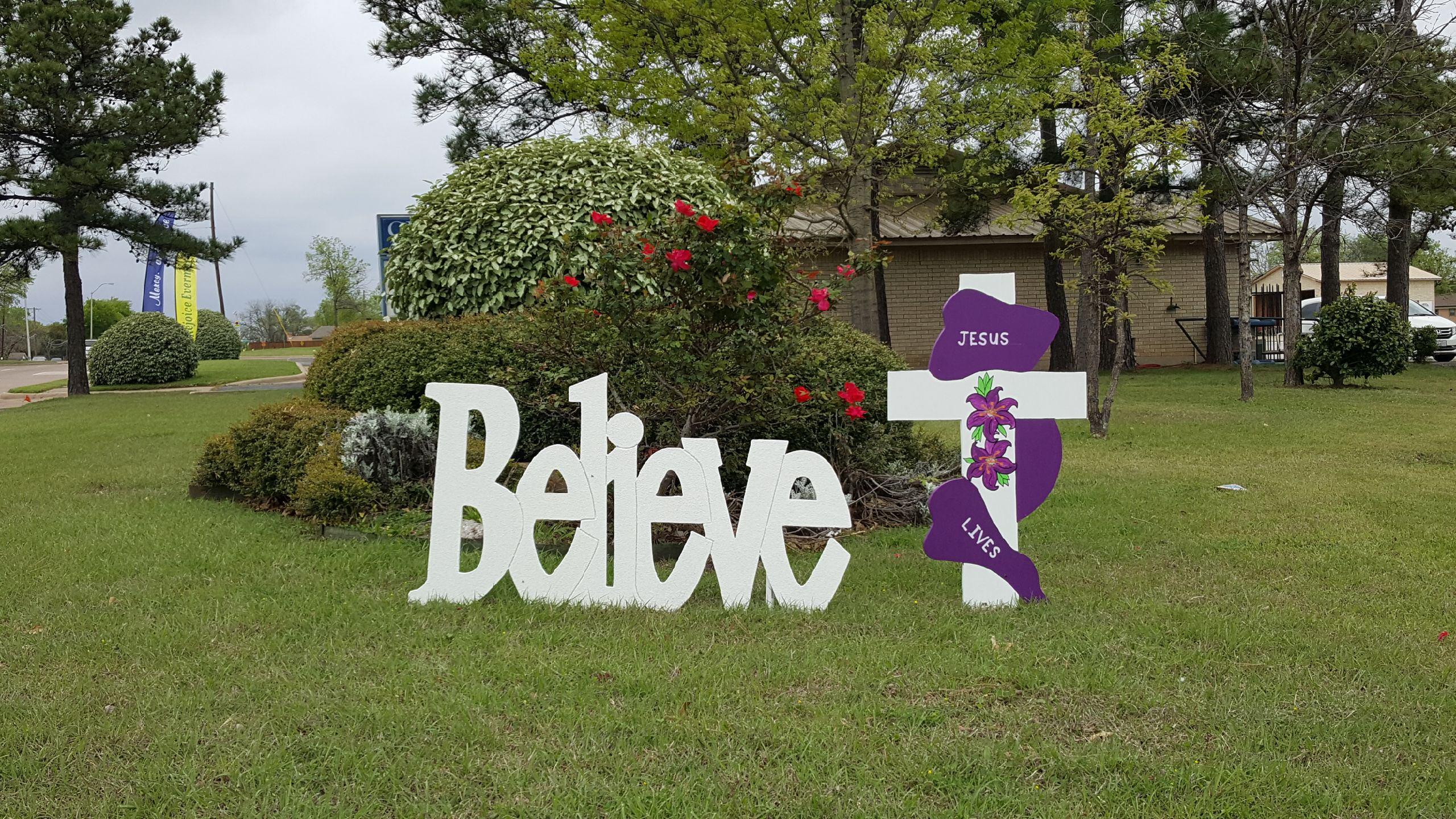Believe-cross