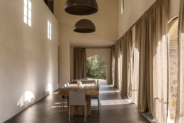 Lighting objects Atelier Nest / Nestor & Rotsen / Kalkpleister / Mortex / Tadelakt / Beton Cire / Pastellone / verlichting / object