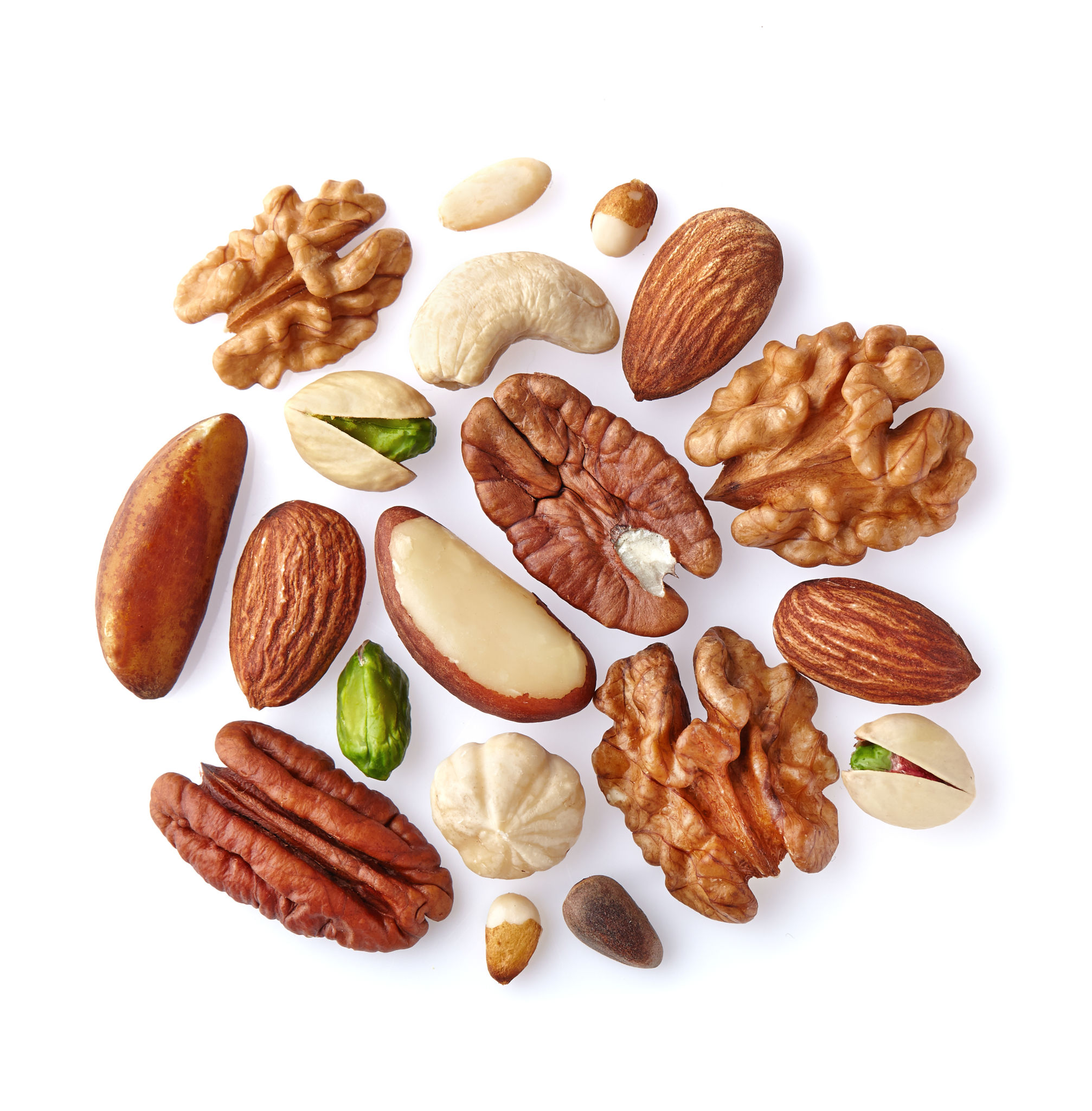 The most useful nuts. Types of nuts. Benefit and harm 36