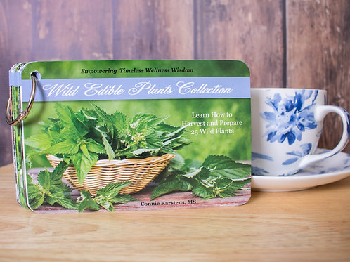 Wild Edible Card Set