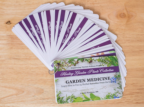 Garden Medicine Card Set