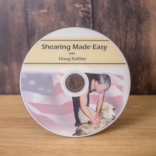 Sheep Shearing Mad Easy DVD