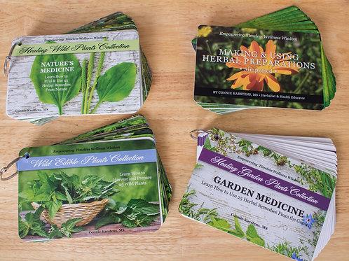 Herbal Education Card Set Package