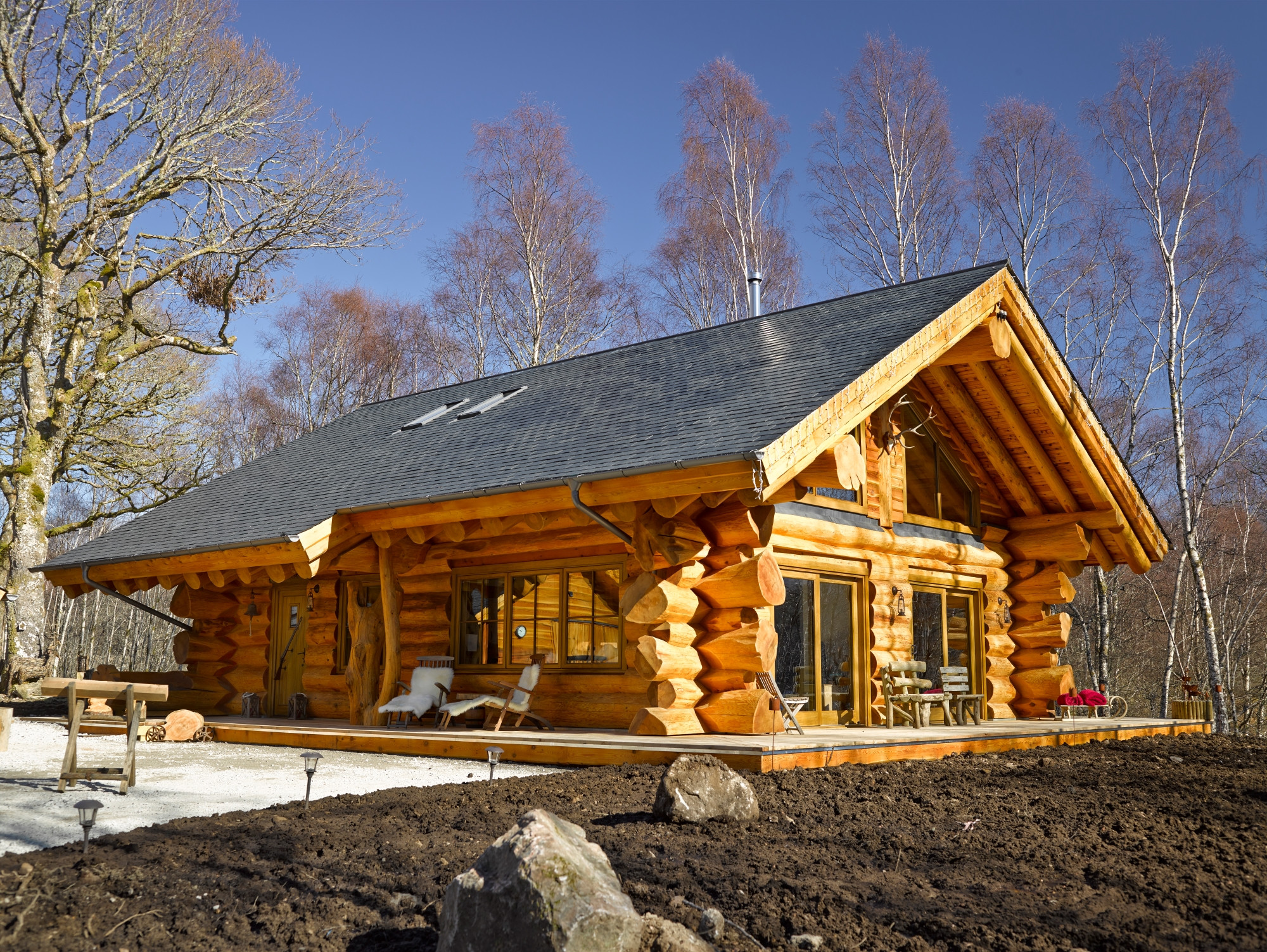 Luxury pine lodges to suit every couple