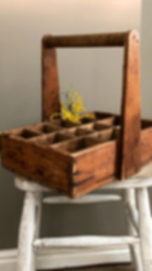 Wooden Tray, Flowers, Kitchen, Furniture