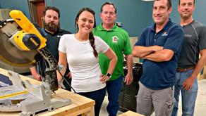 SLCC's  New Carpentry Training Program Builds Skills