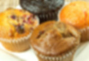 blueberry muffin, cranberry orange muffin, banana muffin, chocolate chip muffin, fresh muffins, brazil indiana, terre haute indiana